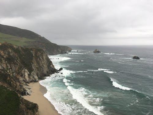 Photos gratuites de côte, côte de falaises, falaise