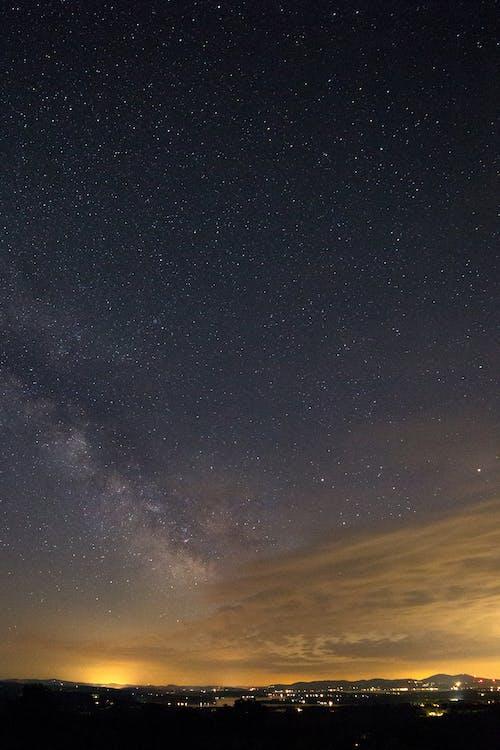 밤, 별, 별이 빛나는, 별자리의 무료 스톡 사진