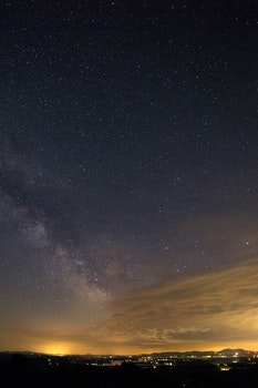 Free stock photo of night, milky way, stars, exploration