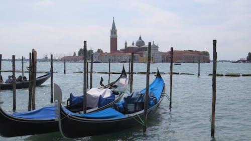 Free stock photo of gondolas