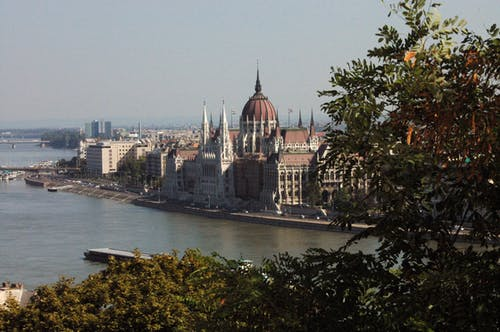 Free stock photo of parliament of budapest