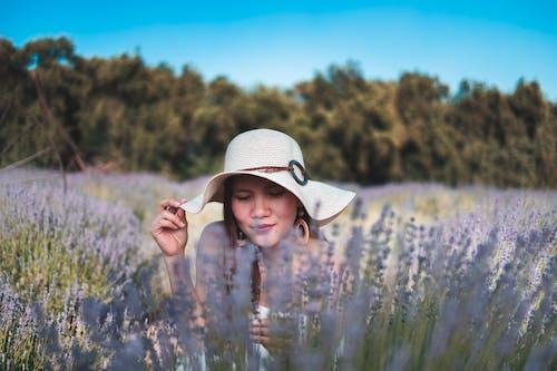 Imagine de stoc gratuită din câmp, femeie, floare, floră