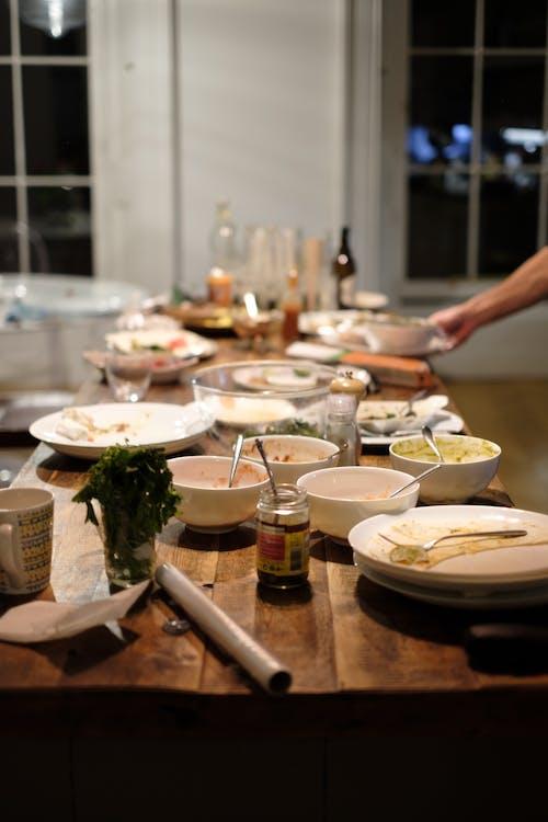 Foto d'estoc gratuïta de àpat, coberts, cristalleria, cuinant
