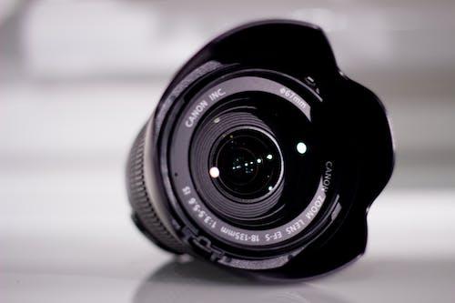 Close-Up Photo of Camera Lens