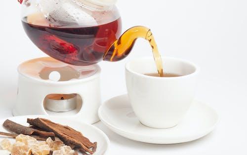 Základová fotografie zdarma na téma čaj, černý čaj, čokoláda, cukr