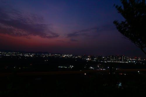 Бесплатное стоковое фото с голубое небо, закат, пейзажная фотография, сансет бич