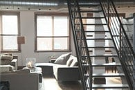 stairs, home, loft