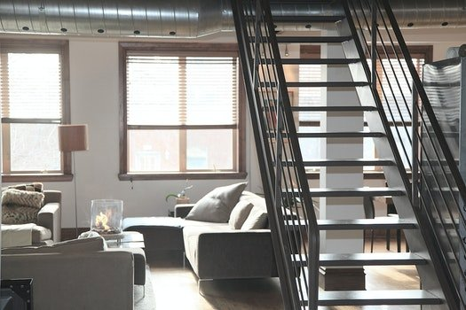 Free stock photo of stairs, home, loft, decoration