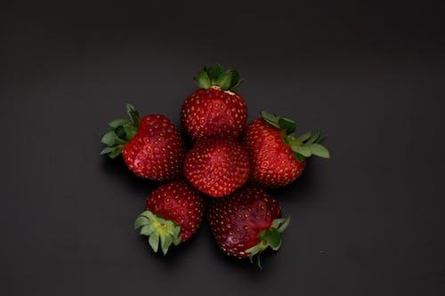 Foto stok gratis buah, fotografi makanan, makanan, stroberi
