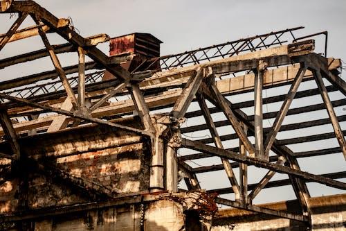 さび, コンクリート, 壁紙, 工業用の無料の写真素材
