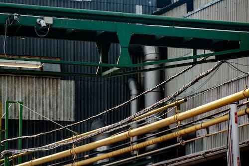 パイプ, 壁紙, 工業ビル, 都市写真の無料の写真素材