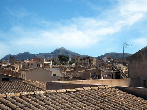 Free stock photo of rooftops
