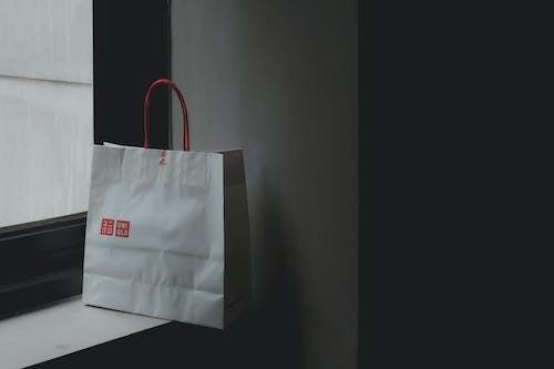 Gratis lagerfoto af brand, indkøbspose, minimalistisk, mærke
