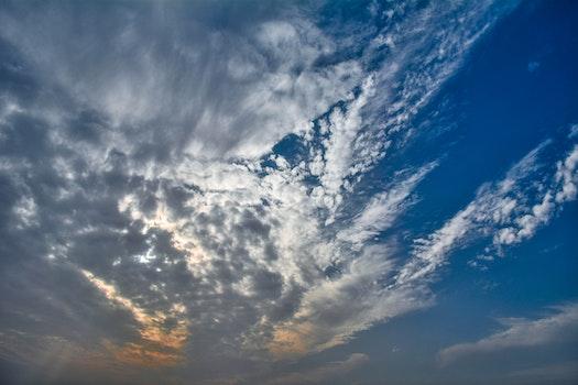 Kostenloses Stock Foto zu licht, dämmerung, sonnenuntergang, wolken