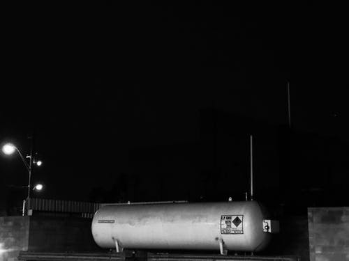 Kostenloses Stock Foto zu lpg-tank, tankstelle