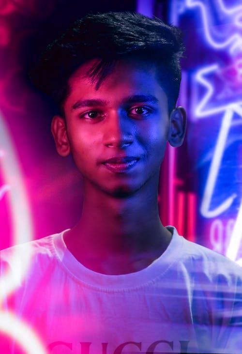 Gratis arkivbilde med Adobe Photoshop, farge, nattfotografi, neon