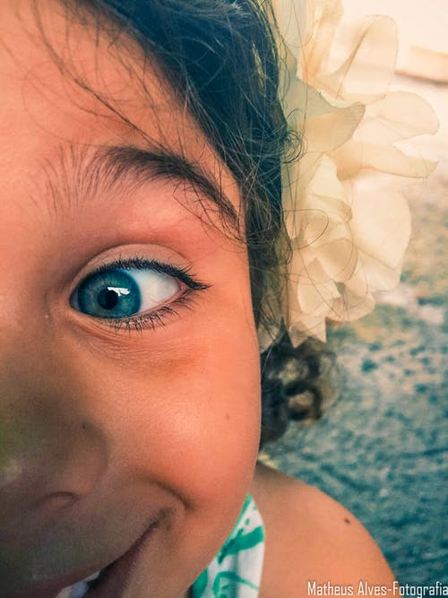 Free stock photo of child, gaze