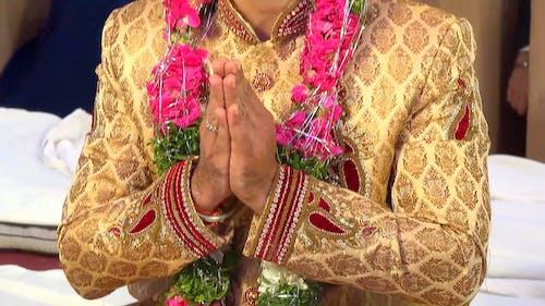 Immagine gratuita di cerimoniale, giacca, matrimonio, preghiera