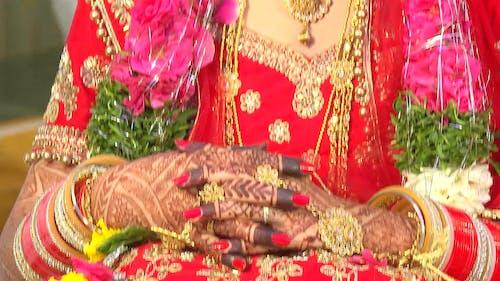 Immagine gratuita di gioielleria, hennè, matrimonio, sposa