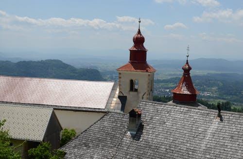 Fotobanka sbezplatnými fotkami na tému budova kostola, hory, kopce, kopec
