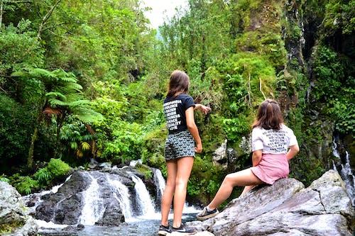 Imagine de stoc gratuită din cascade, curent, femei, în aer liber