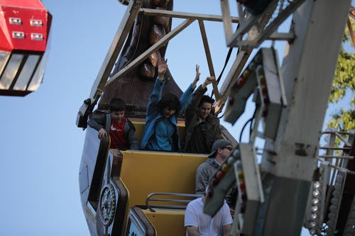 People On A Ride