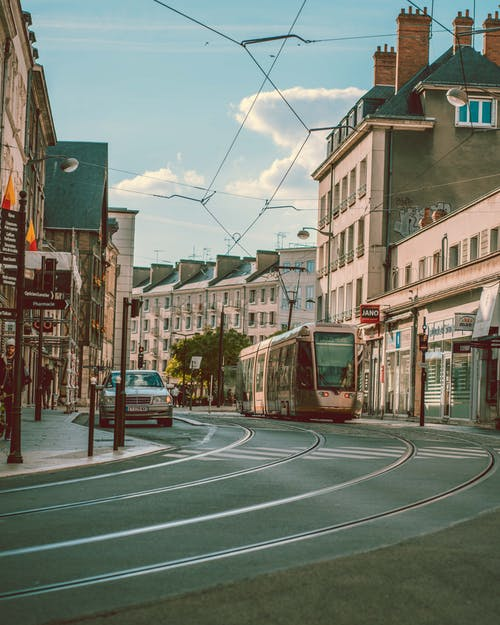 Photo of Tram on Street