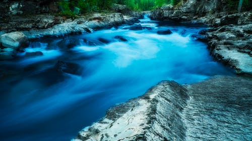 Free stock photo of beautiful, blue, brook, clean