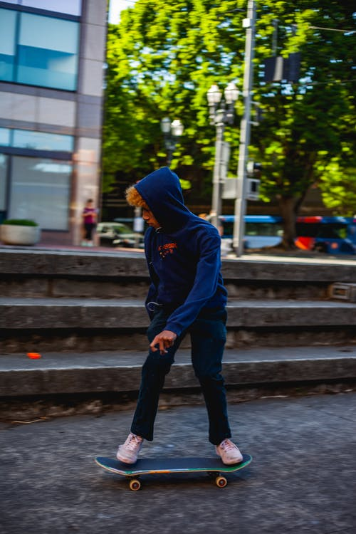 人, 平衡, 溜冰, 溜冰者 的 免费素材照片