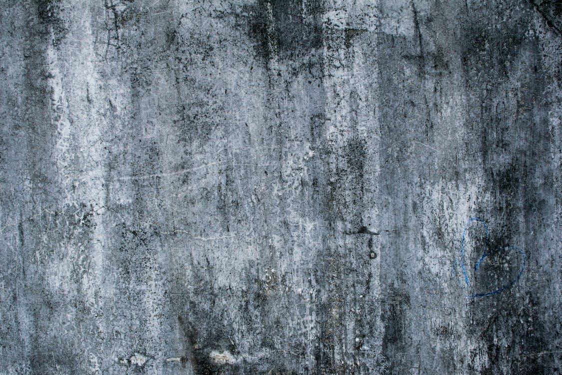 水泥, 水泥牆, 灰色混凝土