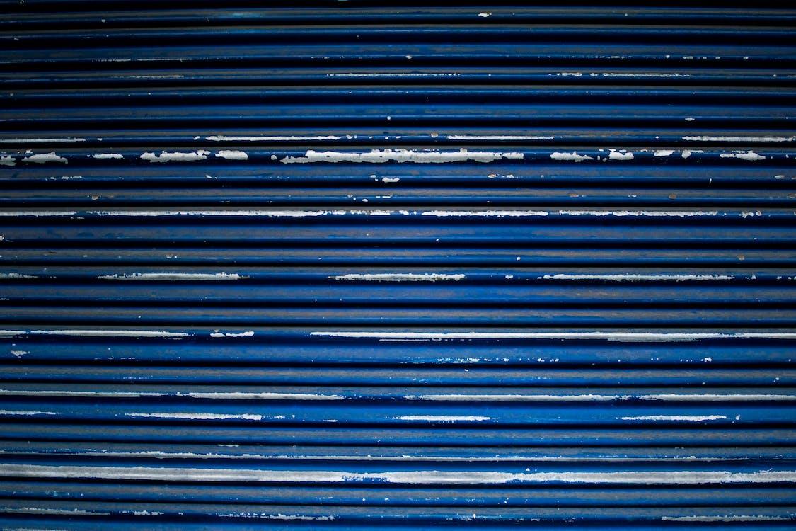 abstrakt maleri, artwork, blå