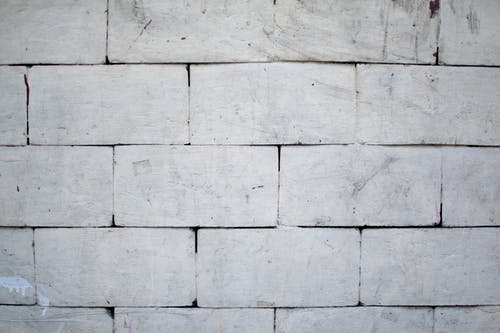 Close-up Photo of Concrete Block Wall