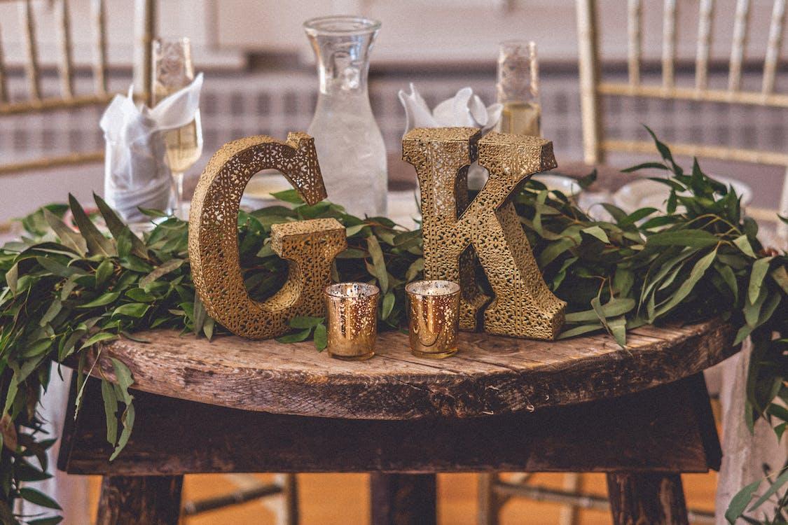 alkohol, dekory, detailný záber