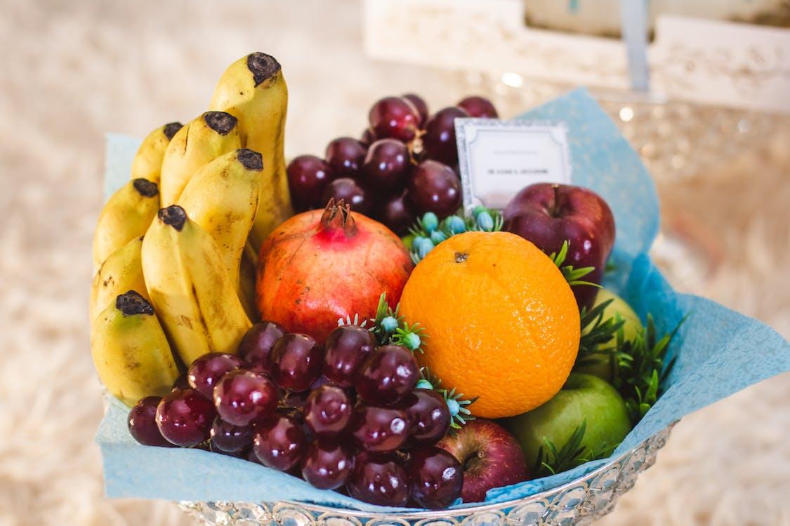 bananer, frukt, hälsosam