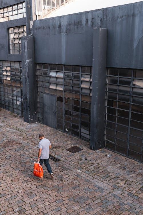 Imagine de stoc gratuită din domeniu, drum, ferestre, gri și negru