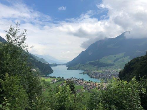 göl, güzel, güzel manzara, interlaken içeren Ücretsiz stok fotoğraf