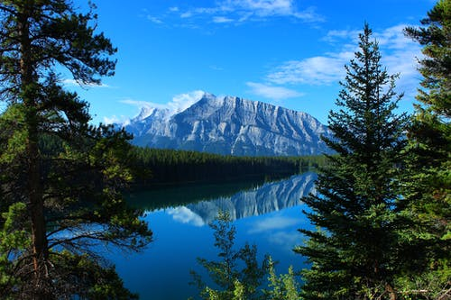 Foto d'estoc gratuïta de banff, banff national park, llac, medi ambient