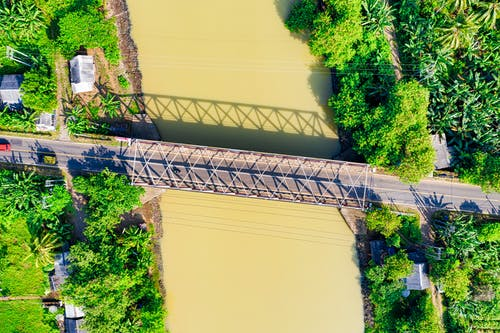 Top View Photo of Bridge
