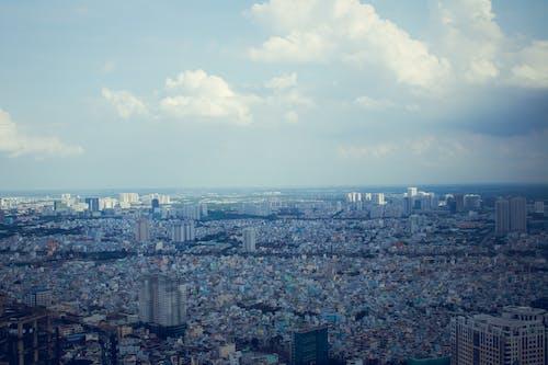 Základová fotografie zdarma na téma budovy, centrum města, čisté nebe, ho chi minh město