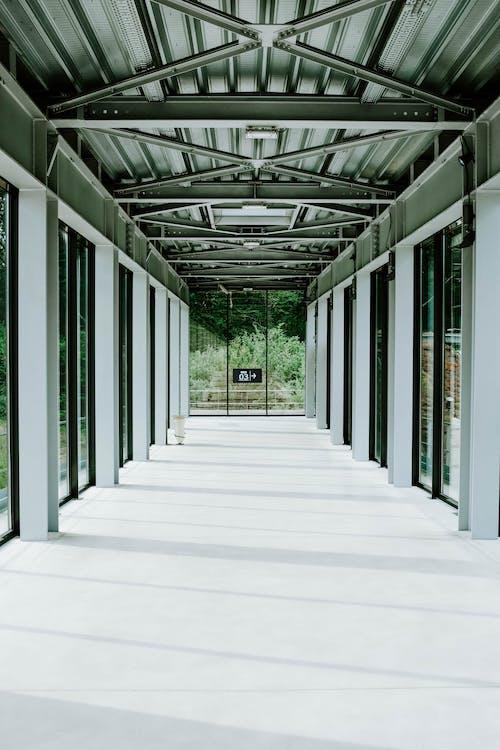 architettura, colonne, contemporaneo