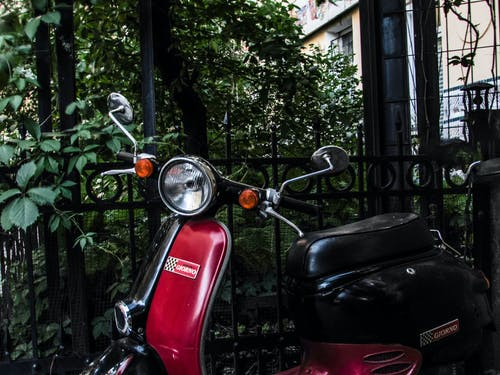 Free stock photo of Honda, motor bike, motor scooter, urban