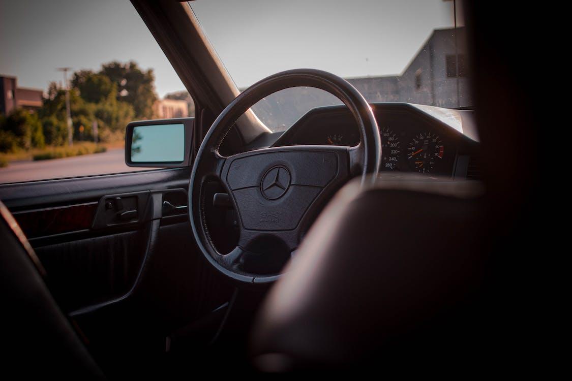 auto, autofenster, autoinnenraum