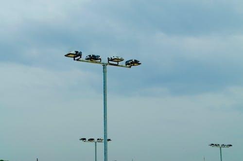 Darmowe zdjęcie z galerii z brytania, lampa, niebieski, niebo