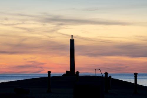 Darmowe zdjęcie z galerii z brytania, latarnia morska, molo, morze