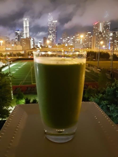 sağlıklı içecek, ufuk çizgisi içeren Ücretsiz stok fotoğraf