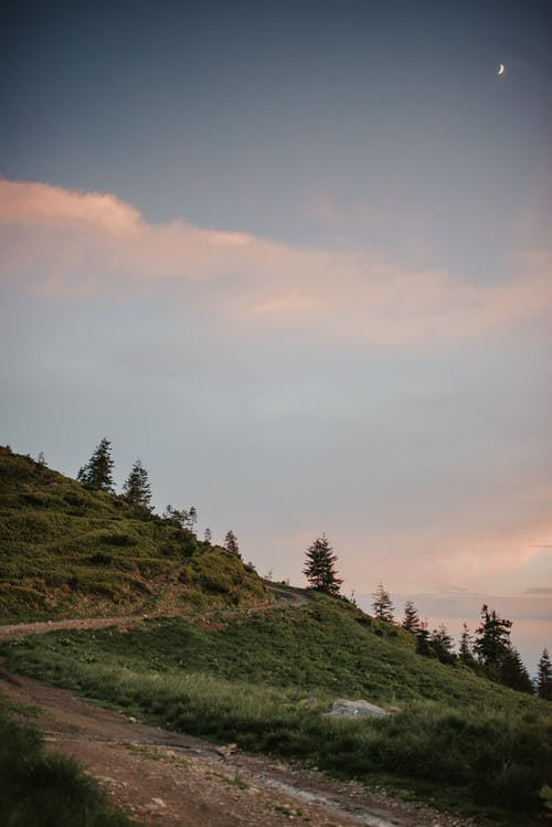 Darmowe zdjęcie z galerii z droga polna, góra, natura, wzgórze