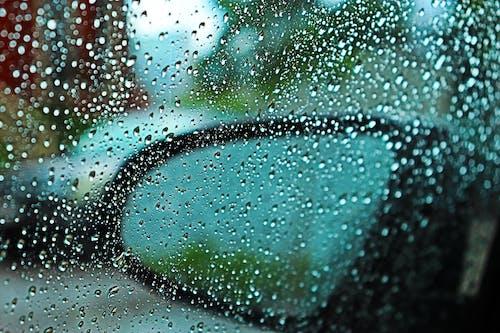 gök gürültülü fırtına, ön cam, yağmur damlaları, Yağmurdan sonra içeren Ücretsiz stok fotoğraf
