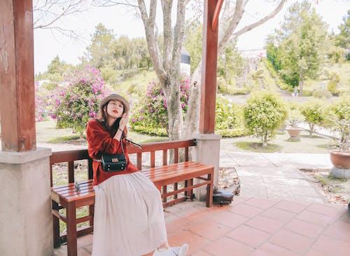 亞洲女人, 亞洲女性, 休閒, 假期 的 免費圖庫相片