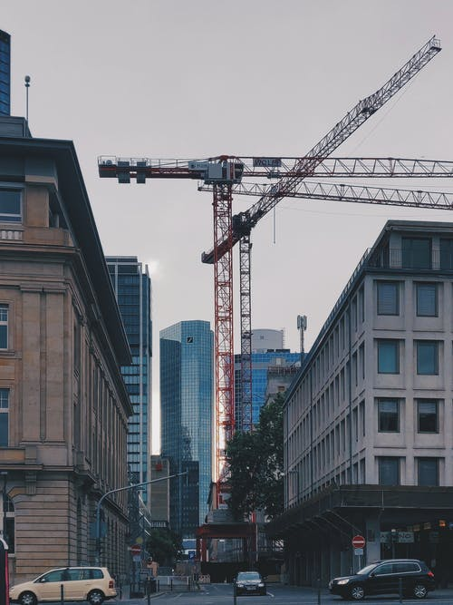 Kostnadsfri bild av byggnader, gata, hög, högsta