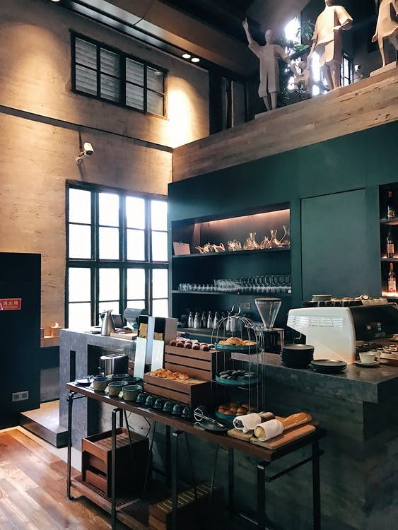 architektura, asortyment, bar